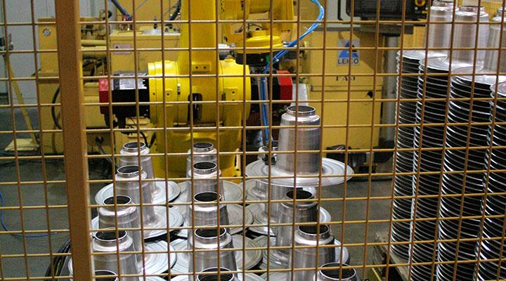 Gerobotiseerde productie - Stapelen 02